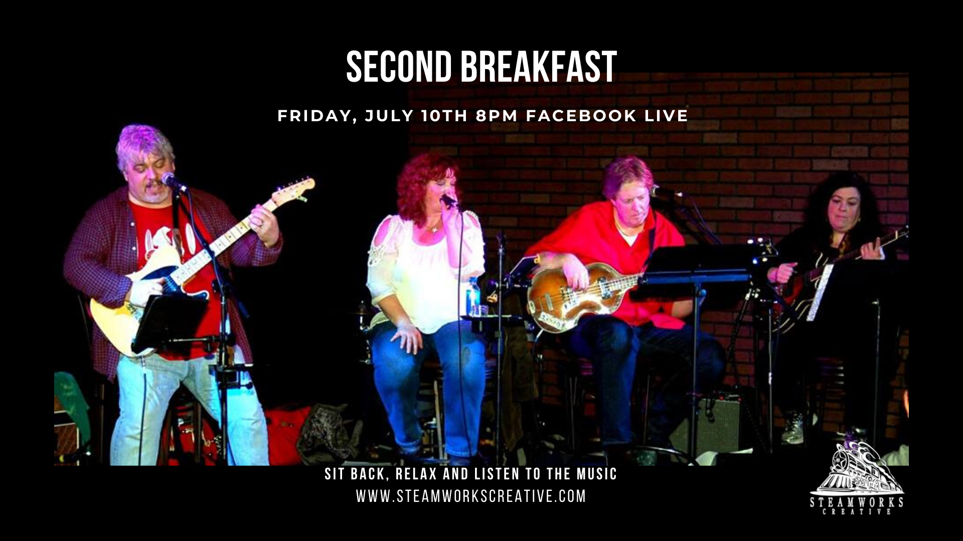 Second Breakfast | Facebook Live 8 PM