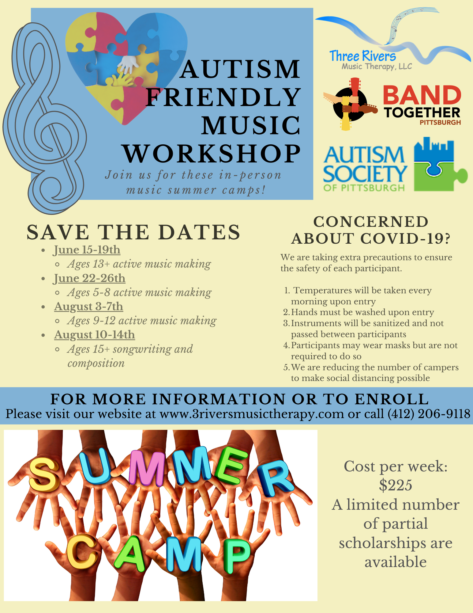 Autism Friendly Music Workshop